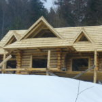 domy z bali - indywidualny projekt domu