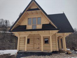 projekty domów w stylu góralskim