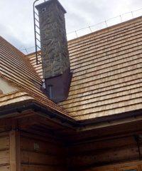 dach z gontów łupanych